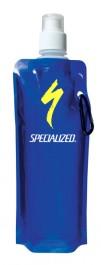 Blue 16 oz. Folding Water Bottle