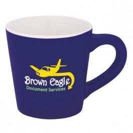 Blue 10 oz. Matte Java Coffee Mug