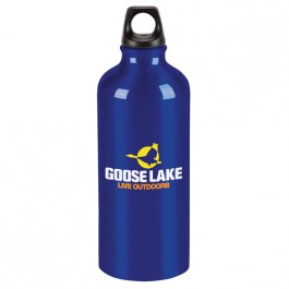 Blue 20 oz. Aluminum Trek Water Bottle