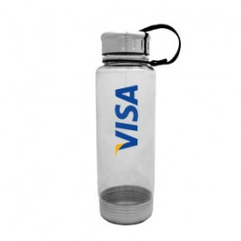 Clear / White 24 oz Venture Water Bottle