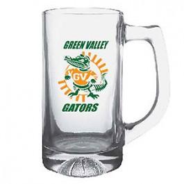 Clear 13 oz Basketball Glass Sport Mug