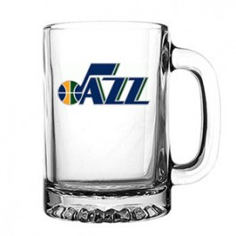 Clear 9-3/4 oz Glass Sport Mug