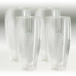 Clear 22 oz Binara 4 Piece Gift Set