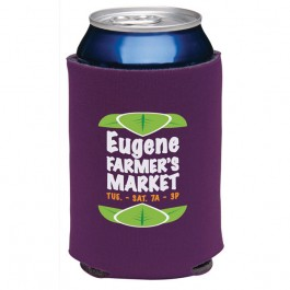 Eggplant Collapsible Eco KOOZIE(R) Can Kooler