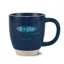 Cobalt Blue 14 oz Tailored Ceramic Coffee Mug