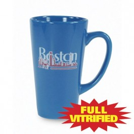 Ocean Blue 15 oz Vitrified Restaurant Ceramic Coffee Mug