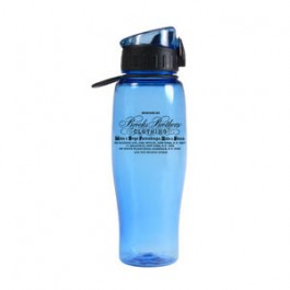 Ice Blue / Black 24oz.Quencher Water Bottle