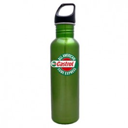 Lime Green / Black 26oz Excursion Stainless Steel Water Bottle - FCP
