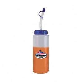 Frost / Orange / Blue 32 oz Color Changing Water Bottle (Full Color)