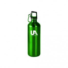 Green / Black 25 oz Classic Stainless Steel Sports Bottle