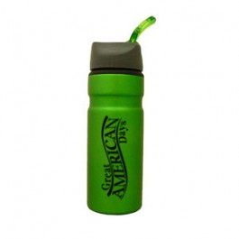 Green / Gray 28oz Outback Aluminum Water Bottle
