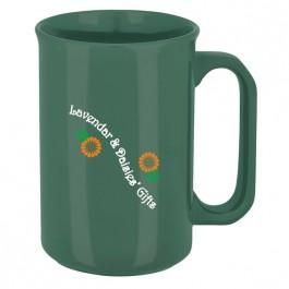 Green 10 oz. Canterbury Color Coffee Mug