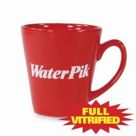 Mv839_red.jpg 11 oz Red & Orange Vitrified Restaurant Ceramic Coffee Mug