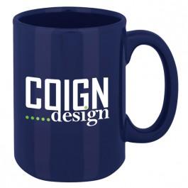 Navy 15 oz. Magnum Coffee Mug