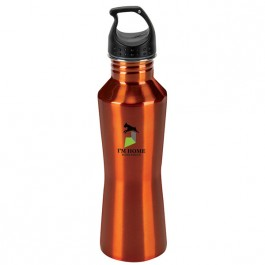 Orange 23 oz. Stainless Steel Hana Water Bottle