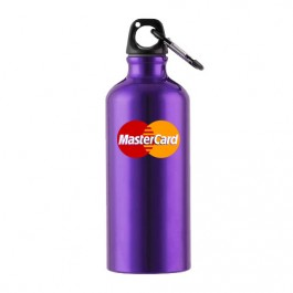 Purple 22 oz Aluminum Sports Bottle
