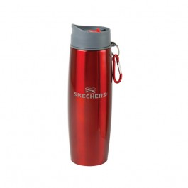 Red / Gray 16oz Duo Insulated Tumbler/Water Bottle