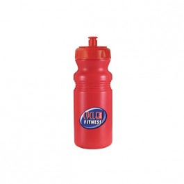 Red / Red 20 oz Cycle Bottle (Full Color)