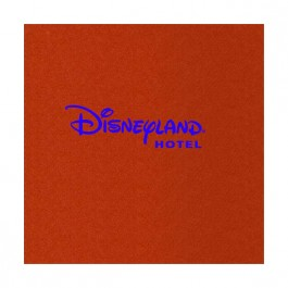 Red Linun Beverage Napkin