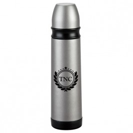 Silver 16.9 oz. Stainless Steel Thermo Bottle