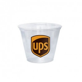Clear 9 oz Soft Plastic Cup