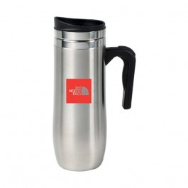 Stainless 16 oz Motif Travel Mug