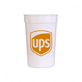 White 22 oz Smooth Stadium Cup