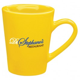 Yellow 13 oz. Sausalito Ceramic Coffee Mug
