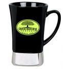 12 oz. Ceramic & Stainless Steel Mug