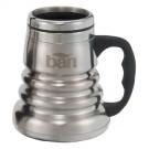 14 oz. Engraved Stainless Steel Tri-Roll Desk Mug