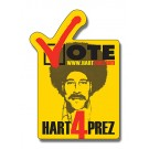 2.25 x 3.25 Vote Shape Outdoor Magnet