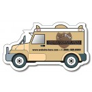 4 x 2.25 Armored Truck Shape Magnet