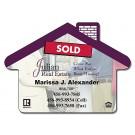 3.5 x 2.5 Real Estate / House Shape Magnet