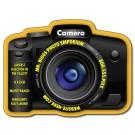 3.5625 x 2.7 Camera Shape Magnet