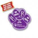 3.25 x 3.125 Paw Shape Outdoor Magnet