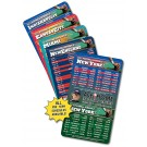 4 x 7 Round Corner FOOTBALL Sport Schedule Magnet - NEXT DAY RUSH