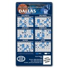 4 x 7 Round Corner BASKETBALL Sport Schedule Magnet - NEXT DAY RUSH