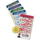 4 x 7 Round Corner Baseball Sport Schedule Magnet