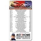 4 x 7 Round Corner NASCAR Sport Schedule Magnet - NEXT DAY RUSH