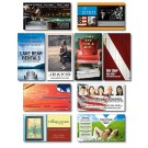 3.5 x 2 Square Corner Outdoor Business Card Magnet