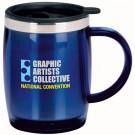 16 oz. Desk Jockey Travel Coffee Mug