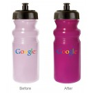 20 oz Sun Color Changing Cycle Bottle