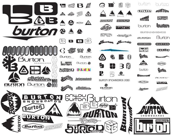 how burton snowboards logo reinforced their business