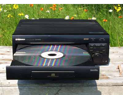pioneer laserdisc