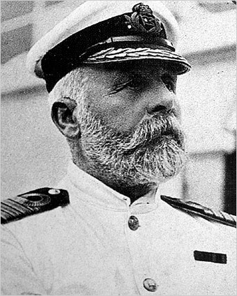 Titanic Captain Edward Smith