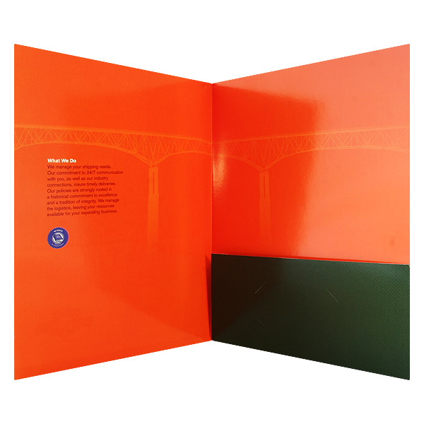 All About Coating Finishes for Your Presentation Folders