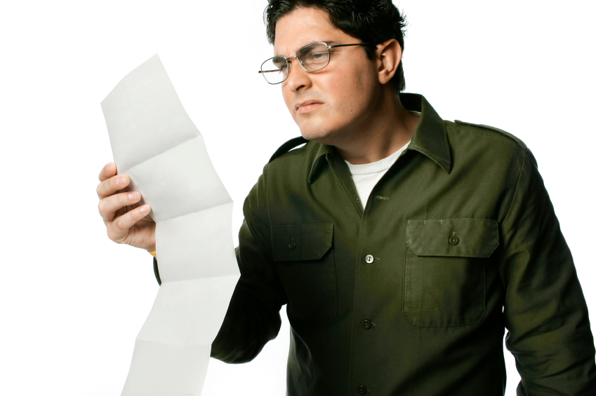 Long Confusing Letter