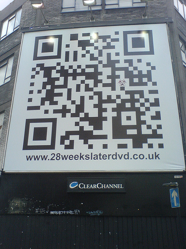 QR Code Billboard