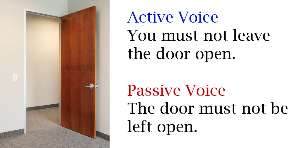 Active Voice vs Passive Voice