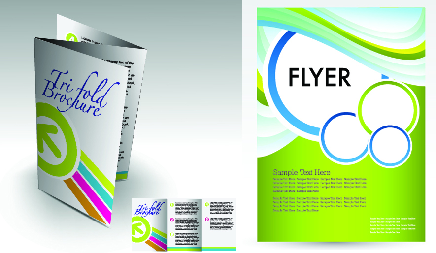 Trifold Brochure Vs Flyer